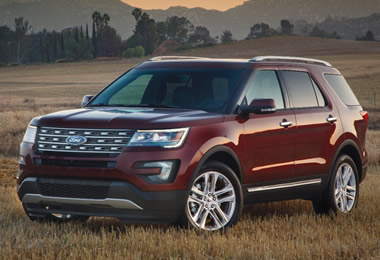 Ford Explorer Towing Capacity >> 2016 Ford Explorer Specs Engine Data Curb Weight And